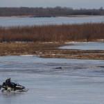 River Traffic in Winter